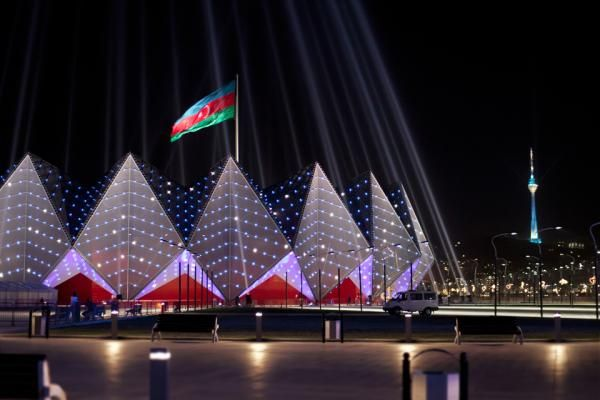 Baku Crystal Hall- amazing