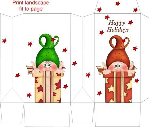 embalagem para barra de chocolate natal