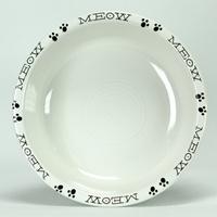 Fiesta kitty bowl >^. .^<: Fiestas Kitty, Fiestas Cat, Usa Fiestas, Kitty Bowls, Bowls 461, Cat Meow, Meow Bowls, Cat Bowls, Fiestas Ware