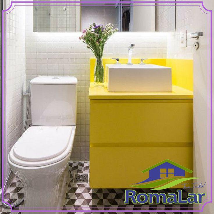 Ter um bom assento sanitário não é apenas sinônimo de conforto. Este item também é fundamental para a higiene do banheiro, um cômodo tão importante da casa.  Por isso, saber escolher o assento para vaso sanitário é tarefa essencial. Aproveite o festival de balcões e acessórios de banheiro da Romalar para dar aquela renovada no design do assento sanitário de seu banheiro!  #VemPraLoja #RomalareVocê #AchadosRomalar #TemNaRomalar #DicadaRoma #Ficadica #VemPraRoma #Decoração #CasaeDecoração