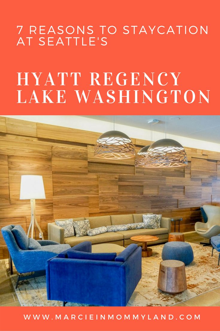 Are you looking for a Seattle spot complete with views of the Seattle skyline, Coulon Park and Lake Washington? Find out why you should make the Hyatt Regency Lake Washington your next Pacific Northwest staycation. Click to read more or pin to save for later. www.marcieinmommyland.com