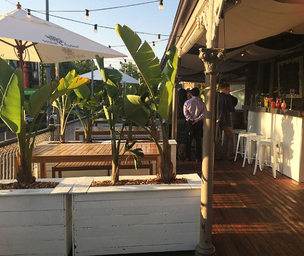 The General Havelock hotel in Hutt Street, has Club Tropicana upstairs on the balcony, Thursday to Saturday nights.