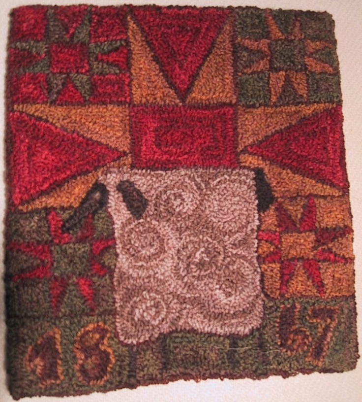 17 Best Images About Rug Hooking Pattern Ideas On
