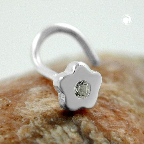 Nässmycke liten blomma Äkta Silver