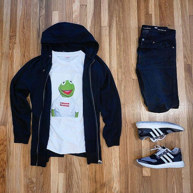 👍 or 👎: #WDYWTgrid by @moogle_rc Shop our feed, hit link in bio. #mensfashion #ootd #outfit 👕: #Supreme #HelmutLang #Uniqlo x #AlexandrePlokhov 👖: #SaintLaurent #YSL #Paris 👟: #adidas #YohjiYamamoto #Y3 #PureBoost ZG #WDYWT for on-feet and model photos #WDYWTgrid for outfit lay down photos