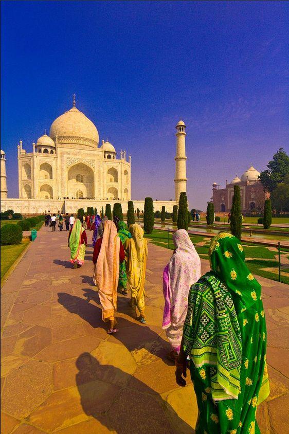 #Taj Mahal, India