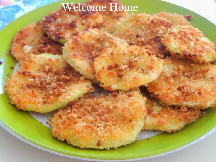Welcome Home Blog: ♥ Panko Breaded Patty Pan Squash. Try with garlic powder or other spices next time.