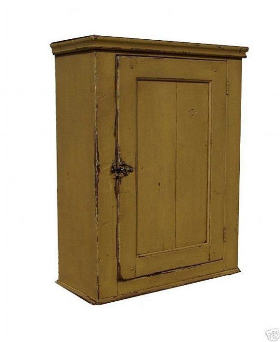 mustard wall cupboard - 341 Best Primitive Cupboards Images On Pinterest Primitive