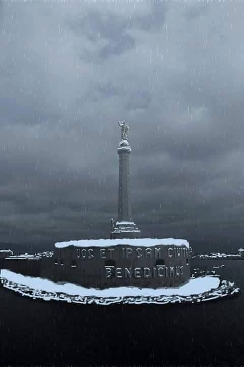 Neve a Messina
