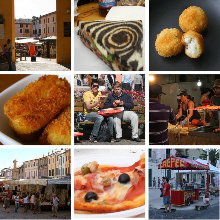 Best Italian Street Food Region By