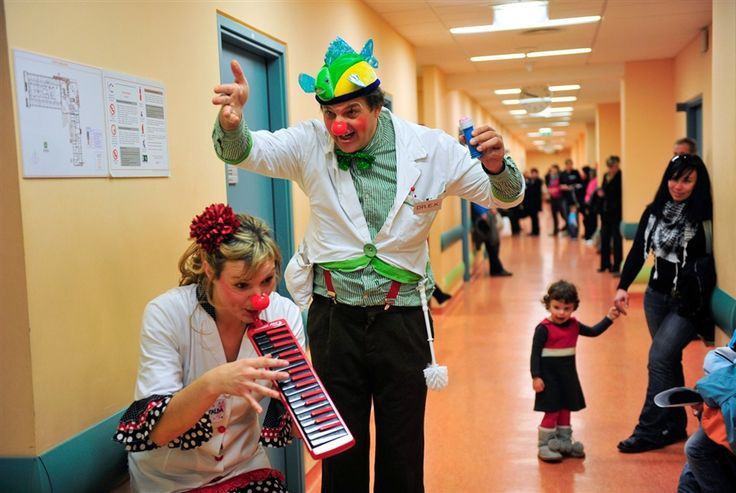 Clown doctors bring levity to serious situations Japan