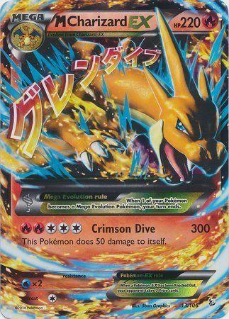 Mega/M Charizard EX (XY Flashfire #13/106) Rare/Holo-Foil Pokemon Card by Pokemon USA, Inc.: Amazon.ca: Toys & Games