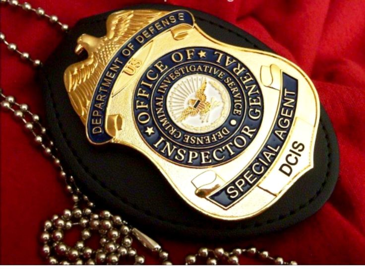 Inspector General Special Agent DCIS | BADGES | Pinterest ...