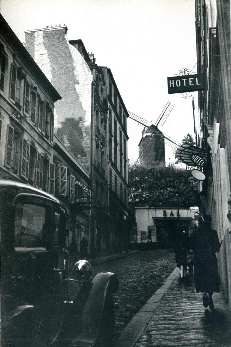 Moulin de la Galette by Man Ray