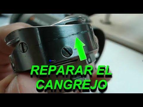 Como reparar el cangrejo de la recta industrial | mecanica confeccion
