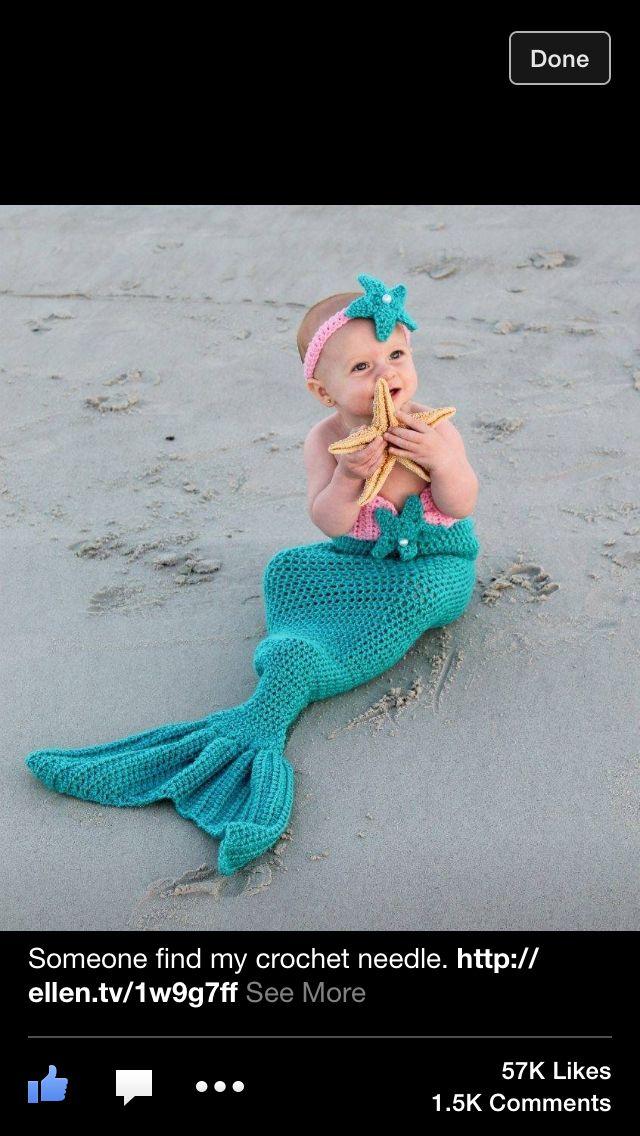Such a cute mermaid!