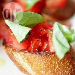 Italiaanse bruschetta @ allrecipes.nl