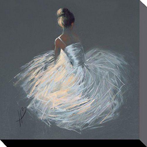 Ballet Poster Reproduction Sur Toile, Tendue Sur Châssis…