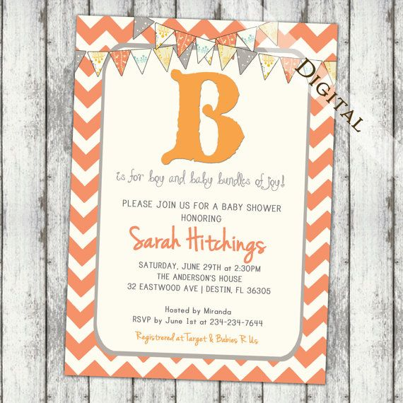 1000+ Images About Baby Shower Invitation On Pinterest