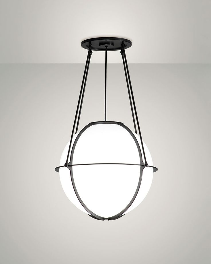 Globe pendant designed by doyle crosby for boyd lighting