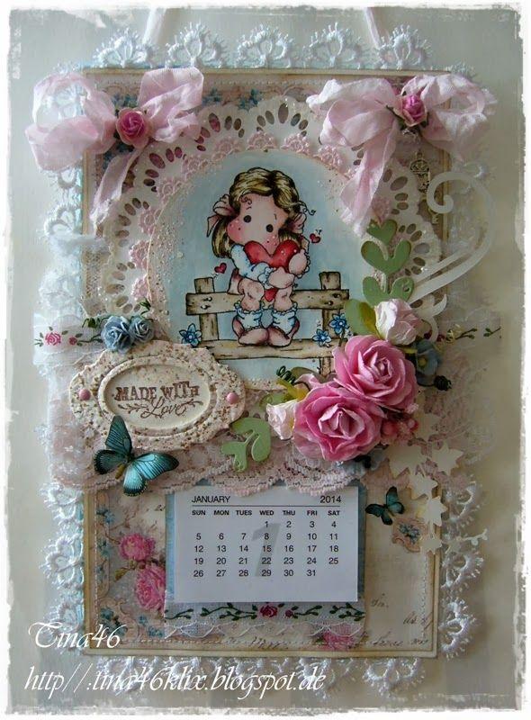 Kalender Tina`s Kreativblog
