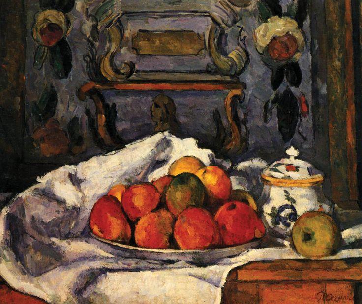 Dish of Apples, Paul Cézanne, 1879