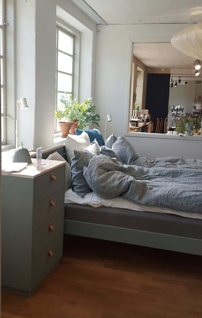 Inredningsbloggen : Piazzan Foto : Pernilla.N  #sovrumsinspiration #bedroomsinspiration #Norrgavel