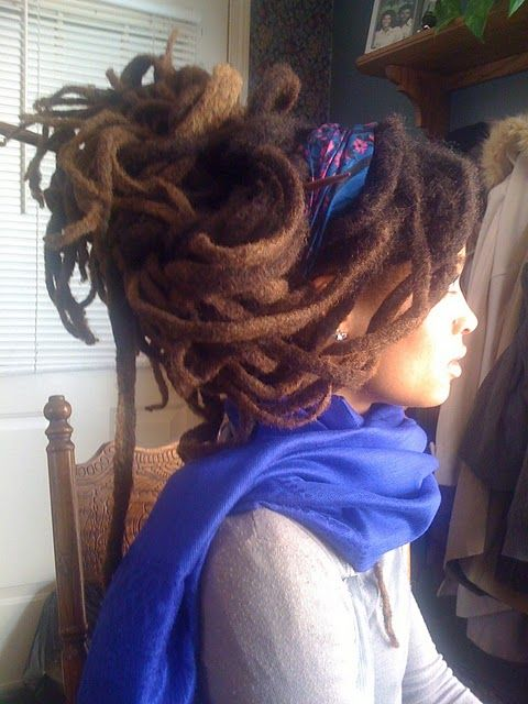 """More locs than you can handle"". More amazingness on naturalhairbeauty.blogspot.com . Thank you for sharing on pinmarket everyone"