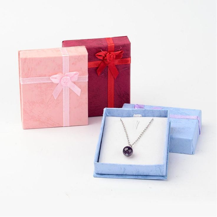 53.4$  Know more - 120pcs/lot Cardboard Pendant Necklaces Boxes 8x7x2cm  Valentines Day Presents Packages Displaying Pendants, Mixed Color   #SHOPPING