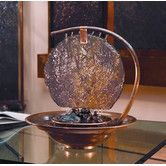 Found it at Wayfair - Moonshadow Tabletop Fountain http://www.wayfair.com/Bluworld-Moonshadow-Tabletop-Fountain-WWMSC-BWD1181.html