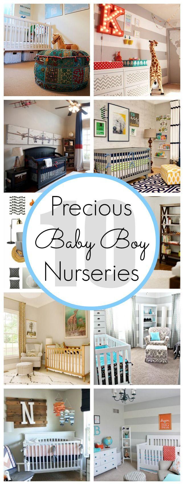 10 Precious Baby Boy Nursery Ideas - www.classyclutter.net preparing for pregnancy prepar for pregnancy #baby #pregnancy