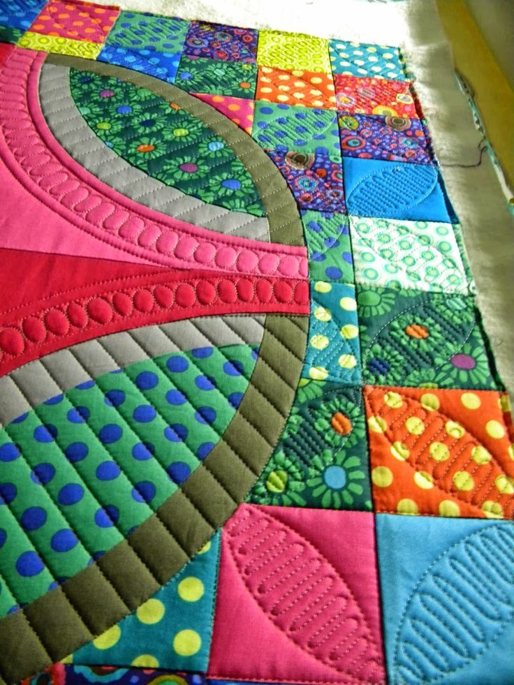 Wow, so many fab ideas here. Just look at that quilting