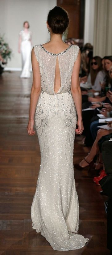 Beautiful Back <3 #wedding #dress Esme dress by Jenny Packham