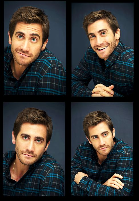 Jake Gyllenhaal. I tried to find the photo of him in just a Santa hat and sock from Jarhead but no luck:/