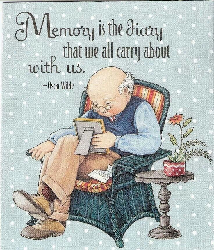 My memories are precious to me.  I just don't know how true some of them are.  It helps to have someone who lived through the times with me to validate what I remember.