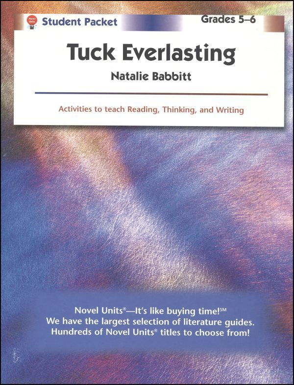 tuck everlasting literary essay Winnie-the-conservationist: as a canonical text of contemporary children's literature, tuck everlasting at least two recent essays in children's literary.