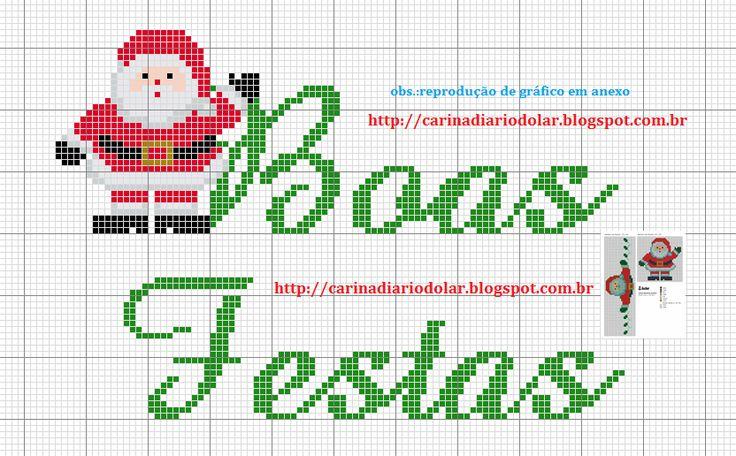 Essência & Ponto Cruz: Natal