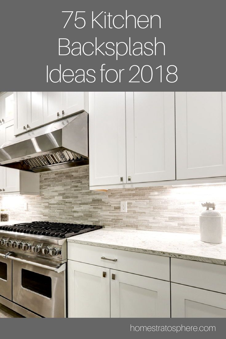 75 Kitchen Backsplash Ideas For 2020 Tile Glass Metal Etc