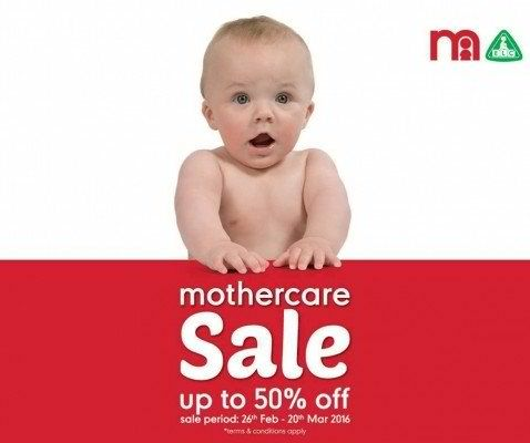 26 Feb-20 Mar 2016: Mothercare Sale