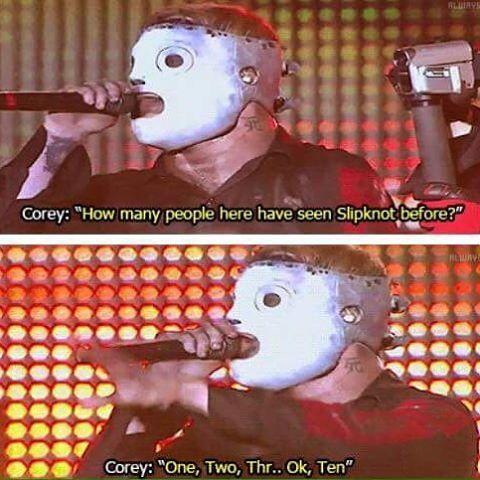 Oh corey your so funny.  #coreytaylor #coreytoddtaylor #coreytaylorrock #cmft…
