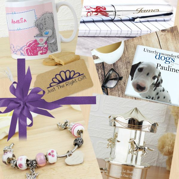 Personalised Gifts for all Occasions  http://justtherightgift.co.uk/