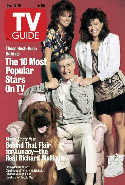TV Guide December 10, 1988 - Dinah Manoff, Kristy McNichol, Richard Mulligan and Dreyfuss of Empty Nest.