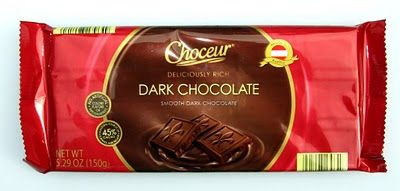 Aldi Review: More Choceur Chocolate - Dark Chocolate and Milk Chocolate with Almonds