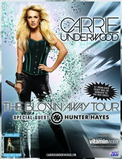 Carrie Underwood Concert Giveaway: Win Free Tickets! - The ...