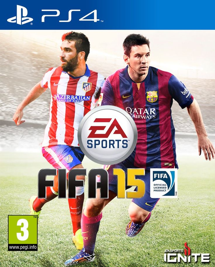 FIFA 15 PS4 Messi Arda Turan Cover by carricudizilla on deviantART