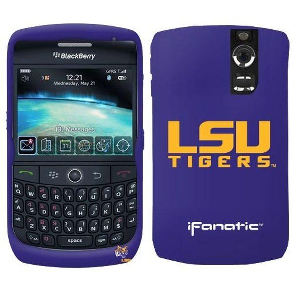 LSU Tigers Purple BlackBerry Curve Silicone Case - $7.99