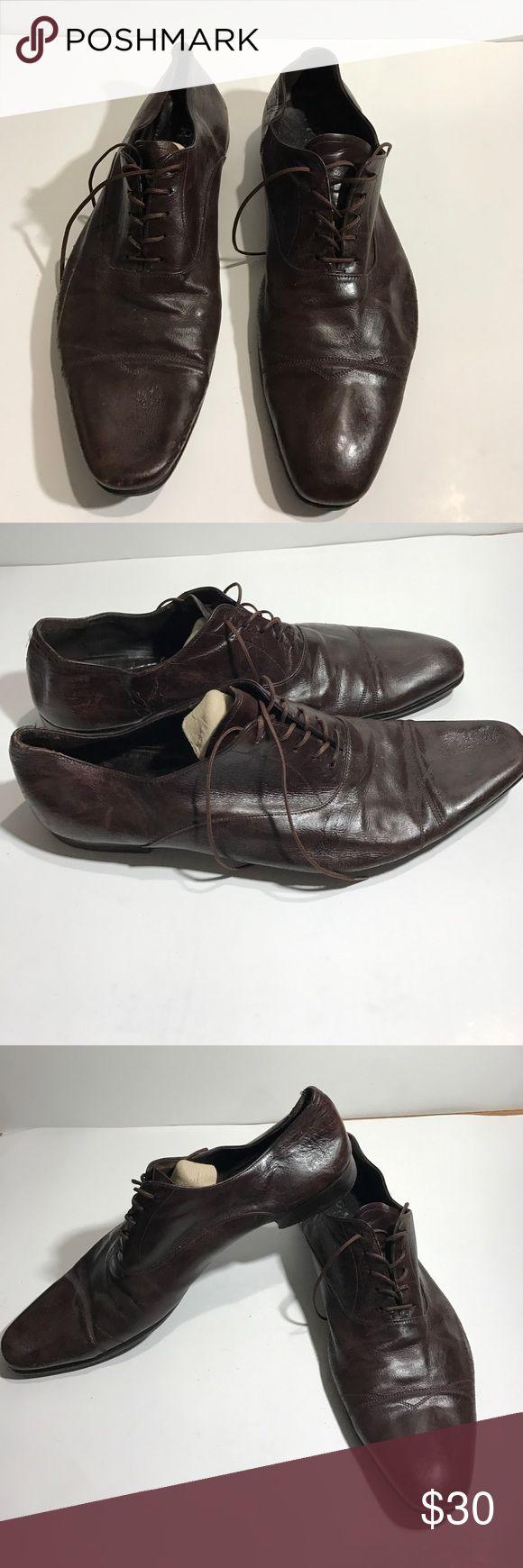 PRADA WINE COLOR Dress shoe Men's size 11 PRADA dress shoe in wine color Prada Shoes Oxfords & Derbys