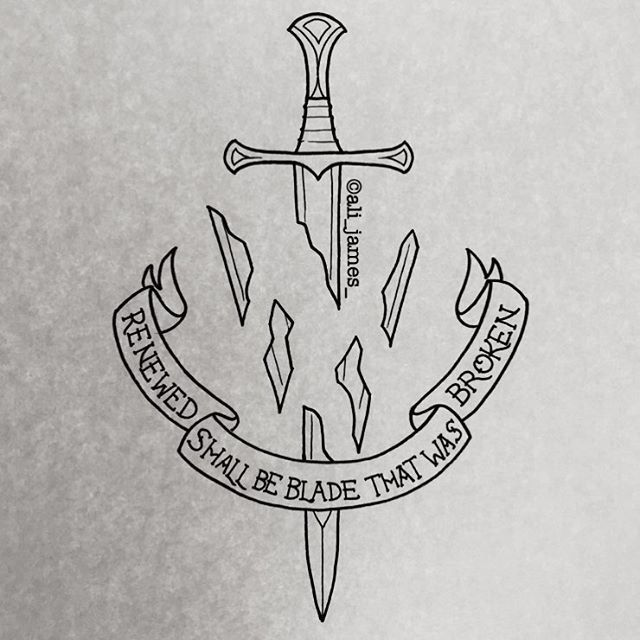 The Crownless Again Shall Be King In 2020 Lord Of The Rings Tattoo Lotr Tattoo The Hobbit