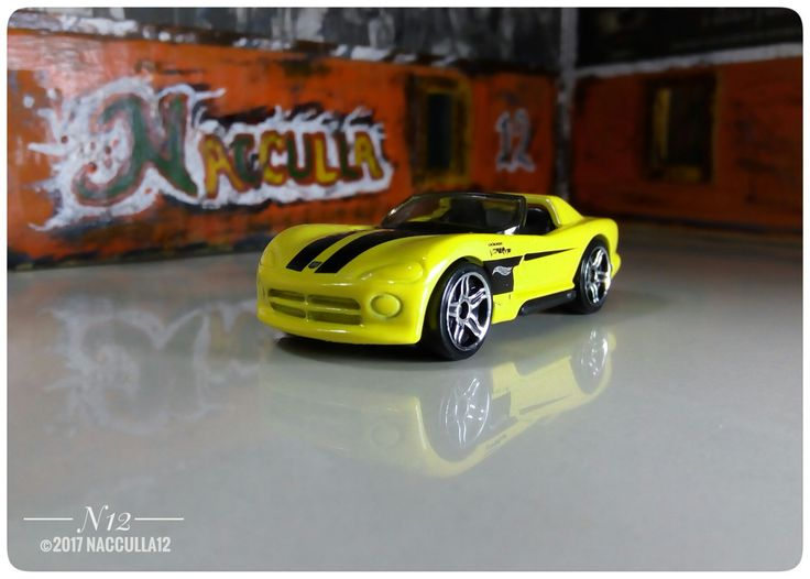 Diecast Photography Viper KT/10 hotwheels scale 1:64