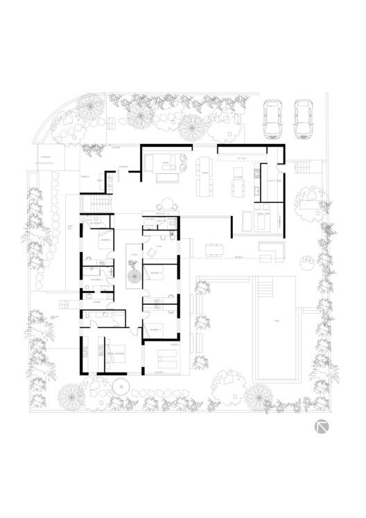 Family as a Community / Jacobs-Yaniv Architects | ArchDaily